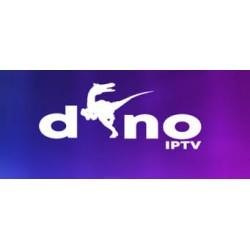 Abonnement 12 mois DINO IPTV